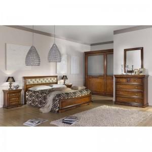 Camera completa armadio con vetro satinato