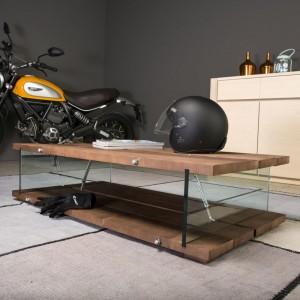 Tavolino Loft stile industrial