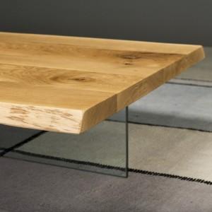 Tavolino Loft con gambe in...