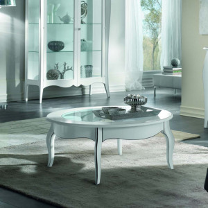Tavolino da salotto ovale...